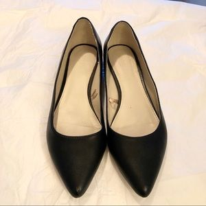 Forever 21 - Black Leather Pointy Flats